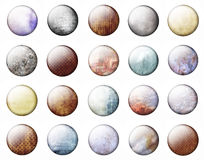 Grunge buttons Stock Image