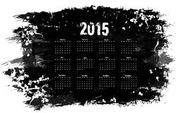 Grunge calendar Royalty Free Stock Photos