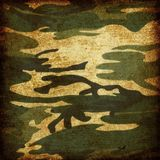 Grunge camouflage Royalty Free Stock Photography