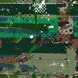 Grunge camouflage pattern Royalty Free Stock Image