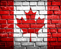 Grunge Canadá imagem de stock royalty free