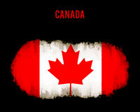 Grunge Canada flag Royalty Free Stock Images