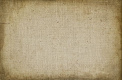 Grunge canvas background Stock Images