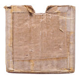 Grunge cardboard box Royalty Free Stock Photo