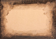 Grunge cardboard texture Royalty Free Stock Photography