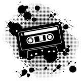 Grunge cassette Stock Photography