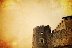 Grunge castle