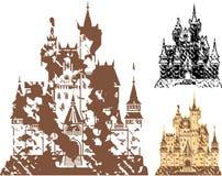 Grunge Castle Vector Stock Photo