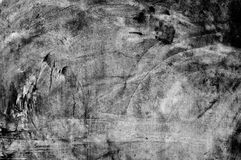 Grunge cement wall in black and white style Royalty Free Stock Photos