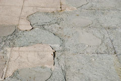 Grunge cemented surface Stock Photography