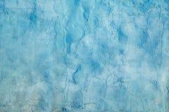 Grunge cementu ściany tekstury błękitny stary tło Fotografia Stock