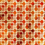 Grunge chain vermelho sem emenda Fotografia de Stock