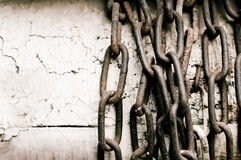 Grunge chains Royalty Free Stock Photo