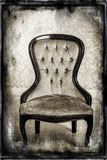 Grunge chair. Royalty Free Stock Images