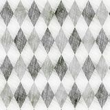Grunge check drawing pattern Royalty Free Stock Photography