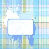 Grunge checked background Stock Image