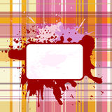 Grunge checked background 2 Royalty Free Stock Images