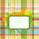 Grunge checked background 3 Stock Photography