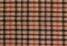 Grunge checked brown pattern Royalty Free Stock Images