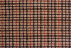 Grunge checked brown pattern Royalty Free Stock Photo