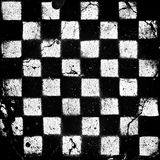 Grunge checkered Foto de Stock Royalty Free