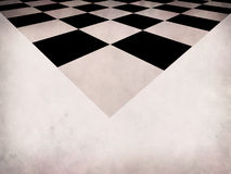 Grunge checkered background Stock Image