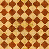 Grunge checkered background Stock Photo