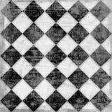 Grunge checkered background Stock Image