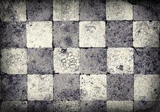 Grunge Checkered Hintergrund Lizenzfreie Stockfotos