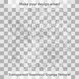Grunge and checkered seamless patterns Stock Photos