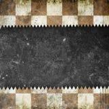 Grunge chess background Stock Photo