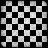 Grunge Chess Board Stock Image