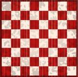 Grunge chess board Stock Photo