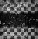 Grunge chessboard backgound Stock Photography