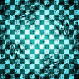 Grunge chessboard background Stock Photography