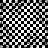Grunge chessboard background Stock Image