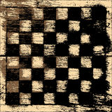 Grunge chessboard background Royalty Free Stock Photography