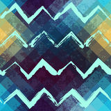 Grunge chevrons. Stock Photo