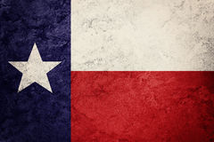 Grunge Chile flag. Chilean flag with grunge texture. Royalty Free Stock Images