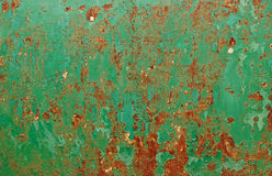 Grunge chipped paint rusty textured metal Stock Images