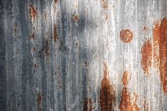 Grunge chipped paint rusty textured metal Stock Photography