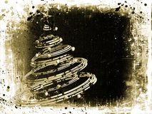 Grunge Christmas Stock Photography