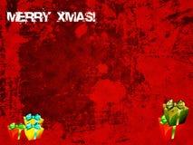 Grunge christmas background Royalty Free Stock Photo