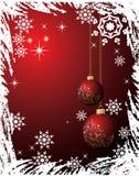 Grunge christmas background Stock Image