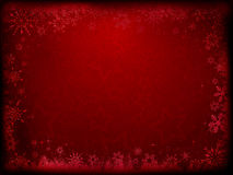 Grunge Christmas background Royalty Free Stock Images