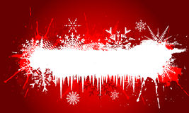 Grunge Christmas background Royalty Free Stock Image