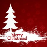 Grunge Christmas Background. Vector illustration for your business artwork Royalty Free Stock Image