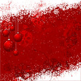 Grunge Christmas background Stock Image