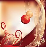 Grunge christmas background. Vector illustration Royalty Free Stock Photo