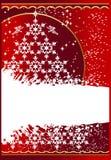 Grunge_christmas_background Stock Photos